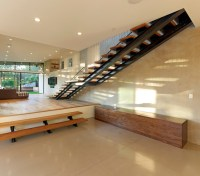 Mill Valley Contemporary SPLIT LEVEL STAIRCASE ...