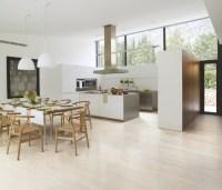Porcelain Tiled Kitchen With Natural Lighting - Modern ...