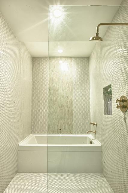 Modern Tub and Shower Room  Modern  Bathroom  Denver