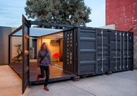ME:OU Shipping Container Office - Industrial - Home Office ...