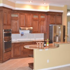 Cherry Wood Kitchen Island Inside Cabinet Storage Cabinets Home Design Ideas, Pictures ...