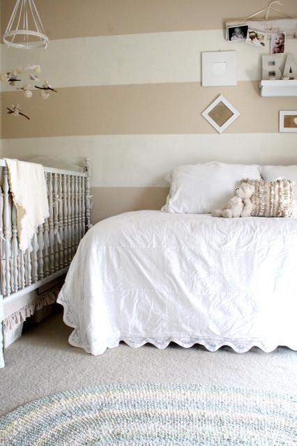 cheap sofas dallas convertible sofa mattress shades of white baby room - traditional nursery ...