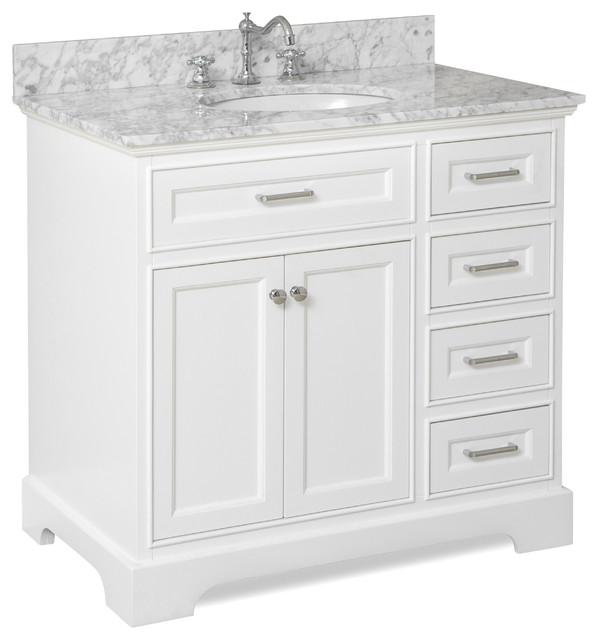 Aria Bath Vanity  Transitional  Bathroom Vanities And