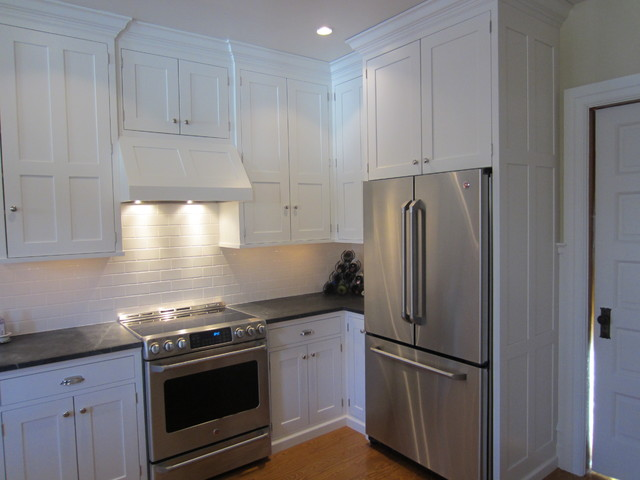 ikea freestanding kitchen cabinet depot built-in free standing refrigerator - traditional ...