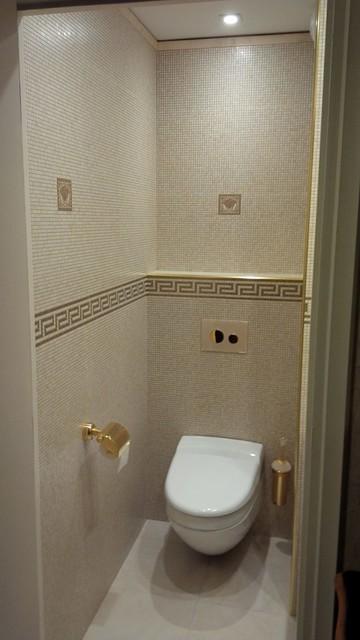 Renovation dun WC  Moderne  Toilettes  Lyon  par clai