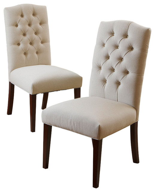 dining chairs table and chair sets clark set of 2 transitional by natural linen