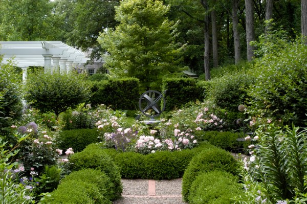 informal garden winnetka illinois