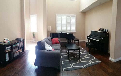 Upright Piano In Living Room Layout