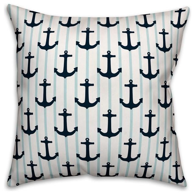 nautical anchors 16 x16