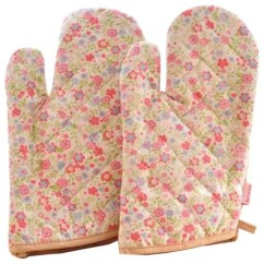 Kitchen Mittens Under The Cabinet Tv For Comfortable Oven Mitts Useful Heat Insulation Gloves Contemporary And Pot Holders By Blancho Bedding