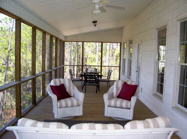 Home Staging  Back Porch  Modern  Porch  Charleston