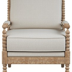 Transitional Accent Chairs Portable Lift Chair Device Orinda Beige With Oak Frame Armchairs And By Houzz