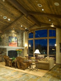 Moffat Way - Rustic - Living Room - Denver - by Terra ...