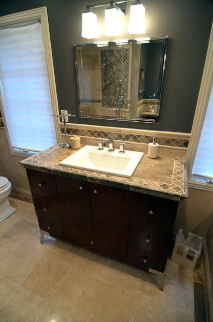amazon kitchen bar stools metal shelves ikea travertine tile counter top - mediterranean bathroom ...