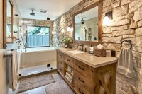 Modern Master Retreat With Old World Flair - Rustic ...