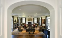 Elaborate Scarsdale Renovation - Traditional - Living Room ...