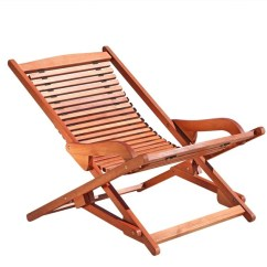 Outdoor Folding Lounge Chairs Boy Potty Chair Vifah Wood Reclining Transitional By Unbeatablesale Inc
