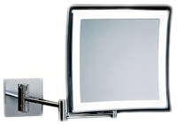 Smile Hard-Wired Wall-Mounted Magnifying Mirror ...