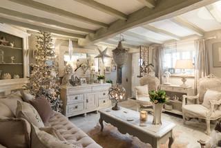 Kent Cottage  ShabbyChic Style  Soggiorno  Londra  di