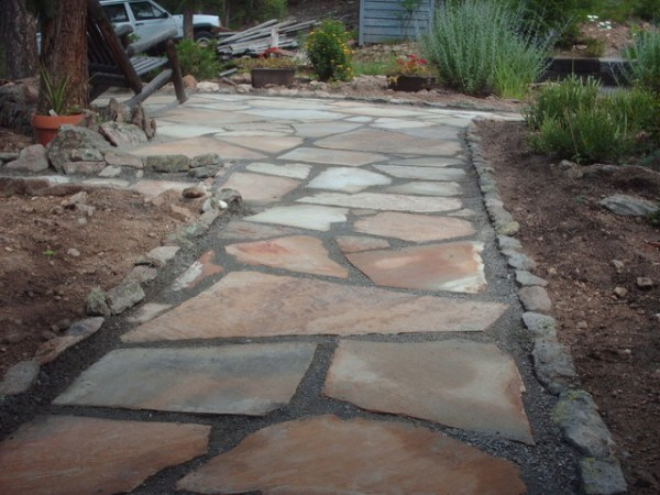 flagstone patio kittredge