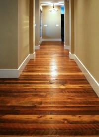 Reclaimed Tobacco Pine Hardwood Flooring - Traditional ...