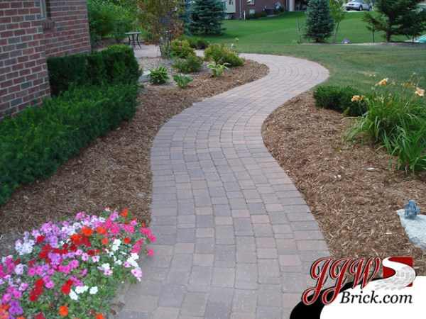 paver walkway design ideas - traditional