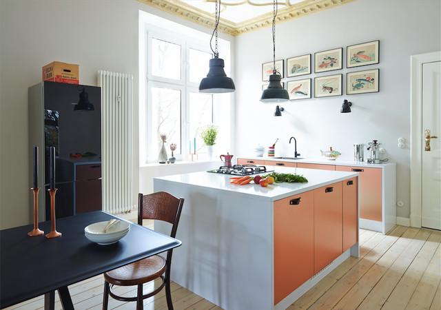 Berühmt Houzz Küche Altbau   Altbau Mit Modernem Anbau - Eklektisch HY09