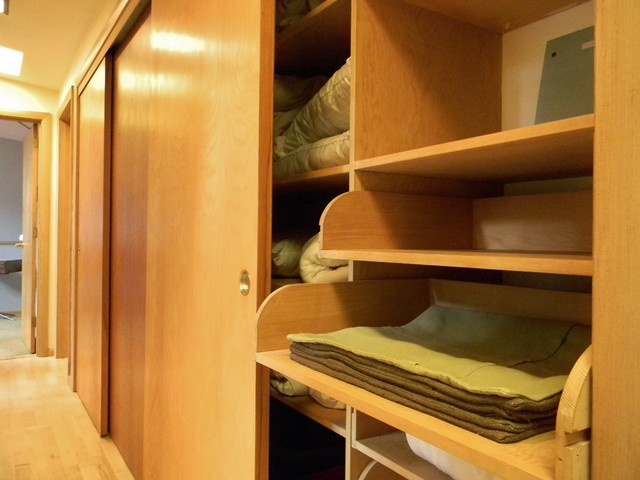 sliding kitchen cabinet doors prints rural mid-century modern - midcentury closet seattle ...