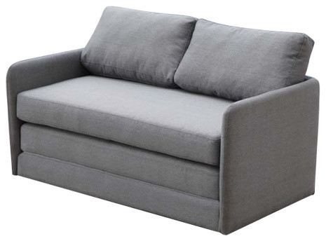 foam sofa sleeper lech poznan vs slavia prague sofascore kathy reversible 5 1 fabric loveseat and bed couch