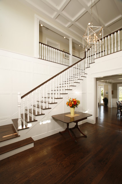 Two Story Entry Foyer Traditional Entry Los Angeles