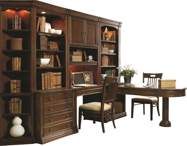 Hooker Furniture Cherry Creek Partners Desk Peninsula