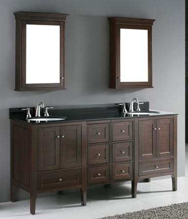 Madeli Bathroom Vanity Torino 72  Contemporary  Bathroom Vanities And Sink Consoles  los