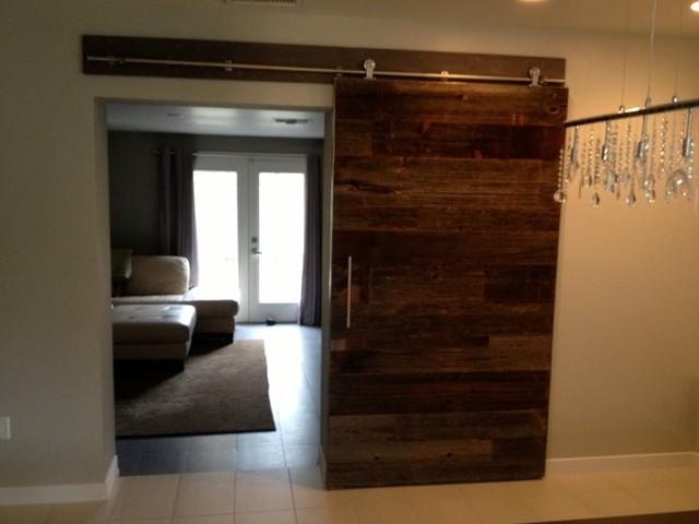 sofas under 2000 lobby sofa in sri lanka sliding barn door - contemporary reclaimed grey hemlock 2 ...