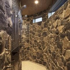 Kitchen Swivel Chairs Backsplash Bungalow Show Home In Springbank - Traditional Bathroom ...