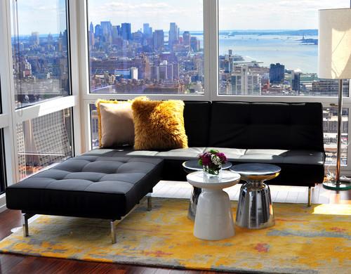 Bachelor Pad - Living Room