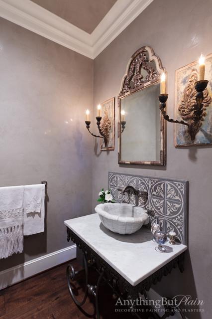 sofas houston sale alex sofa bassett venetian plaster powder bathroom - mediterranean ...