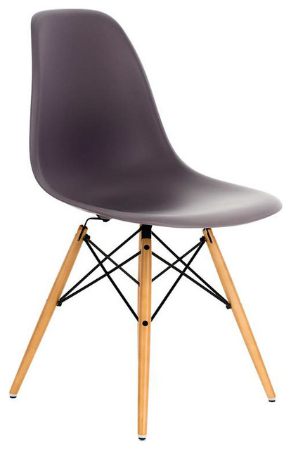 modern plastic chair for bar dsw gray mid century dining shell w wood eiffel legs midcentury chairs by emodern decor