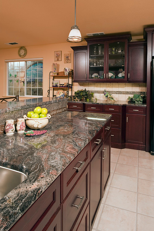 Take It For Granite Granite Colors With Romantic Hints Of Rose