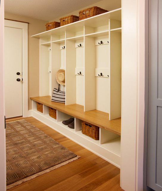Garage Entry Coat Lockers  Traditional  Entry  Minneapolis  by DiGiacomo Homes  Renovation