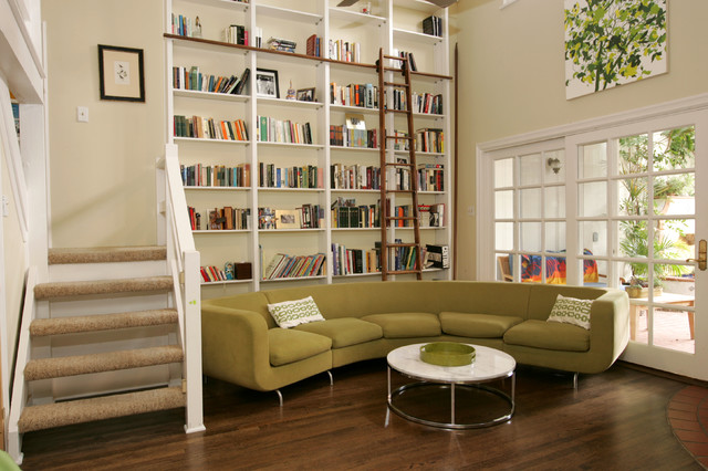 Brentwood Contemporary Library Remodel