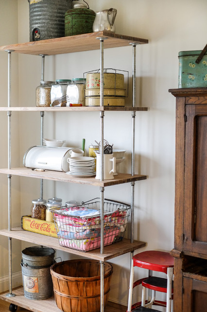 kitchen shelving units ebay cabinets storage shortage make an industrial style unit
