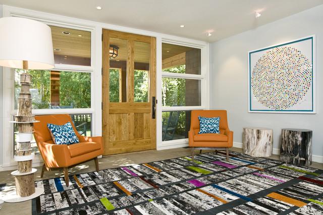Contemporary Entry - Grace Home Design contemporary-entry