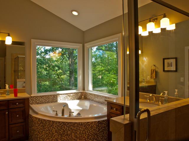 white porcelain undermount kitchen sink stonewall pancake mix master bedroom, bath, garage addition on 1962 ranch ...