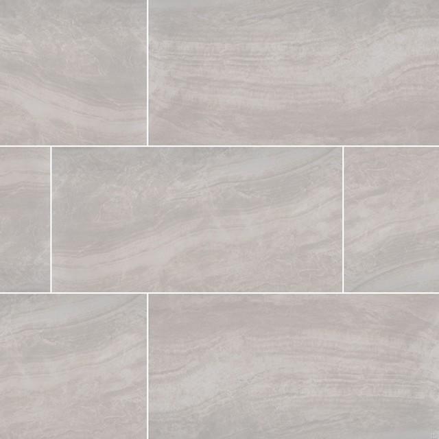 praia grey 12x24 matte porcelain tile sample