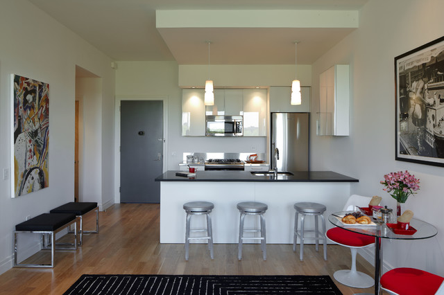 Mercedes House Midtown Modern Interior Design 1 Bedroom Modern