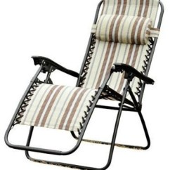 Zero Gravity Pool Chairs Zuma High Chair Outsunny Recliner Lounge Patio Multi Color Stripes