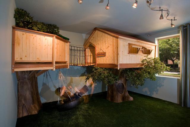 Kid's Treehouse Bedroom Traditional Kids Phoenix By IBD Studio