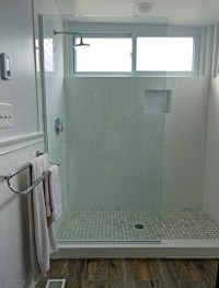 Custom Glass Spray Panels, Splash Guards, and Fixed Panel ...