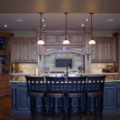 Wood Mode Kitchen Cabinets Remodeling Ideas Knotty Alder - Traditional Omaha By ...