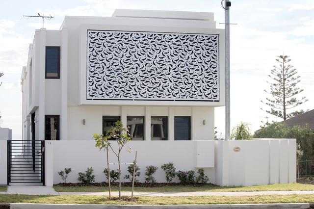Moffart Beach Whale House beach-style-exterior